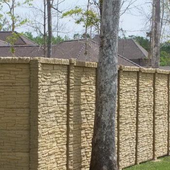 бетонный забор своими руками